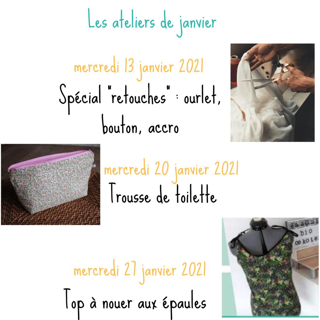 Ateliers couture janvier 2021